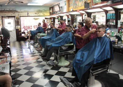 All the barbers working | Scottsdale Barbershop