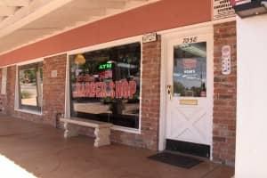 Front of the barbershop | Scottsdale Barbershop