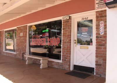 Front of the barbershop | Scottsdale Barbershop