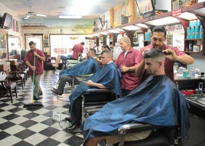 Men getting haircuts | Scottsdale Barbershop
