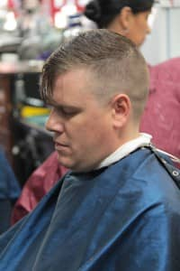 Man getting haircut | Scottsdale Barbershop