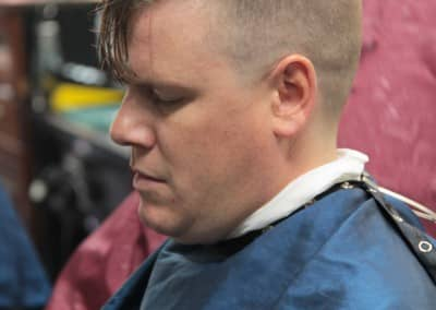 Man getting haircut | Scottsdale Barbershop