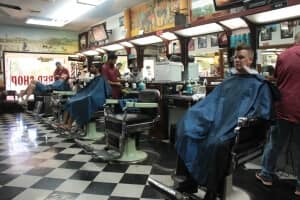 The barbershop is the ideal place to relax and be treated with respect while you get a fresh new look.